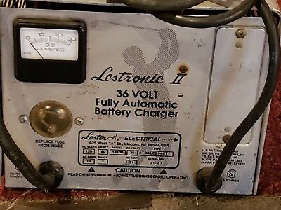 Lestronic ii 36 Volt Battery charger