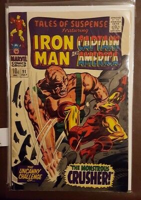 Tales Of Suspense Featuring Iron Man And Captain America # 91 - July 1967