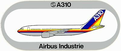 STICKER AUTOCOLLANT AIRBUS A310 AIRBUS livery v3