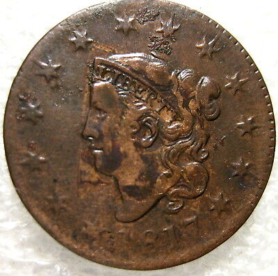 1817 Large Cent Circulated   #S-JH