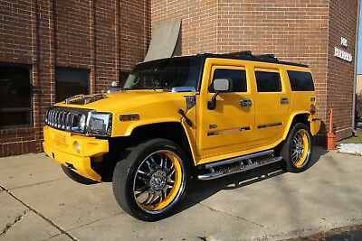 "2003 Hummer H2 - Pristine Low Mile Show Truck - 26"" - TVs 2003 Hummer H2 Pristine Low Mile Show Truck 26"" Perrelli TVs Upgrades"