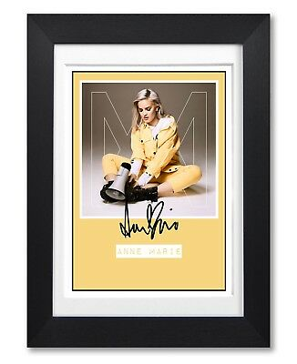 Anne Marie Speak Your Mind Album Cover Signed Poster Print Photo Autograph Gift