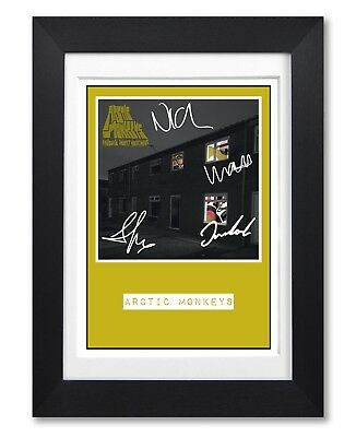 Arctic Monkeys Nightmare Album Cover Signed Poster Print Photo Autograph Gift