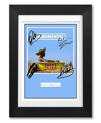 Rudimental Toast To Our Album Cover Signed Poster Print Photo Autograph Gift