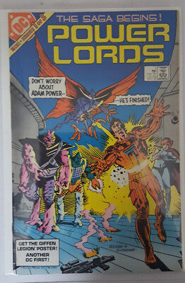 POWER LORDS # 1, to # 3,  ( 1983 / DC COMICS /  VFN- / FN / TOY TIE-IN / SET)