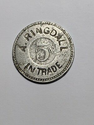 Illinois Trade Token - A. Ringdall / Keithsburg, Il