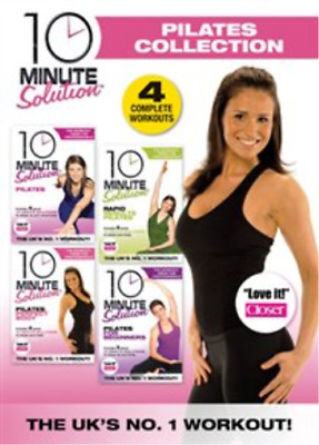 10 Minute Solution: The Pilates Collection DVD NEW
