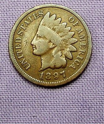 1897  Indian Head Cent   *90116197