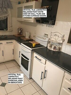 Kitchen Benchtop Paint 4 Litres Top Coat And Primer In One Easy To Use Delivered