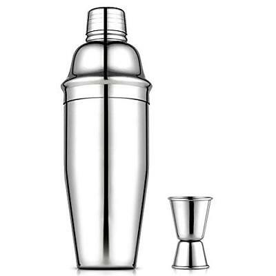 Vegena Cocktailshaker Set, Premium Bar Cocktailset Kit mit Messbecher, 750ML Pr