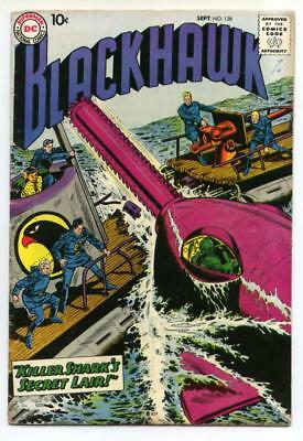 Blackhawk #128 (Dick Dillin) Silver Age-DC Comics FN     {50% OFF}