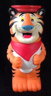 Vintage Kellogg's Frosties Tony The Tiger Figure Set Of 3 Stacking Cups Mugs