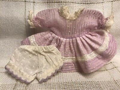 1950s Vintage Doll Clothes DRESS(tag) for Ginger,  Vogue Ginny, Muffie, Alex, 8""