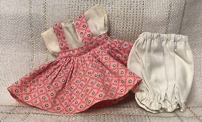 1950s Vintage Doll CLOTHES -DRESS (tags) Vogue Ginny, Muffie, Virga, Ginger, 8""