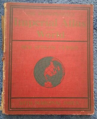 Rand McNally & Co.'s  New Imperial Atlas of The World 1909