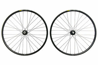 "Mavic EN427 Mountain Bike Wheel Set 29"" Aluminum Tubeless Shimano 11s Chris King"