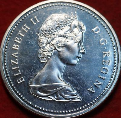 Uncirculated 1972 Silver Canada $1 Foreign Coin