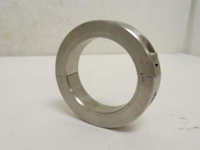 "177250 New-No Box, MFG- 2C-237-S Clamping Collar, Two Piece, SS, 2-3/8"" ID"