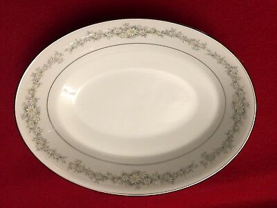 Noritake China Donegal 2179 Oval Vegetable Bowl 9 1/2 Inches Long