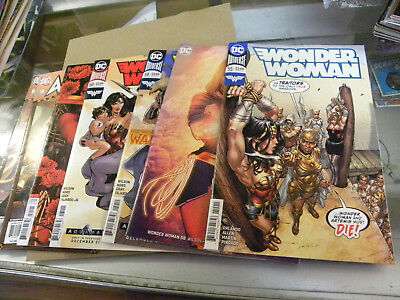 DC 2018 5 issues WONDER WOMAN 55 58 59 60 61 + 2 AMAZONS ATTACK 5 6 qq