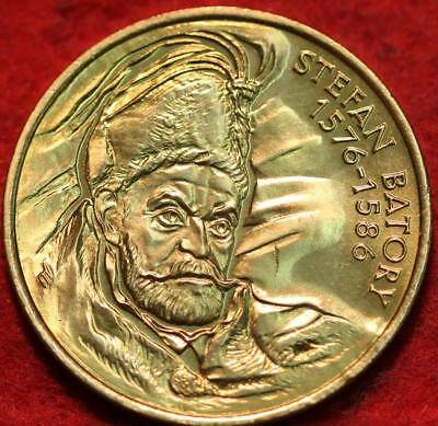 Uncirculated 1997 Poland 2 Zlotych S. Batory Foreign Coin