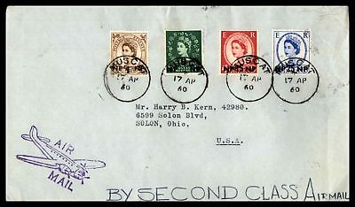 Oman Muscat Cancels 2nd Class Philatelic Cover