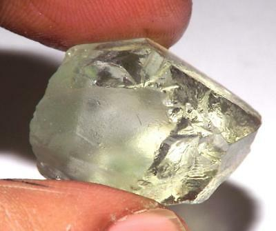 Green Amethyst Prasiolite 28 X 18 mm 49 ct Natural Gem Rough Specimen #rga44