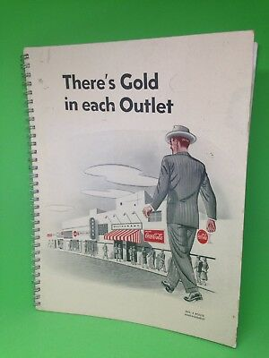 There's Gold In Each Outlet Coca Cola No. 4 Route Management Binder MCMXLVIII