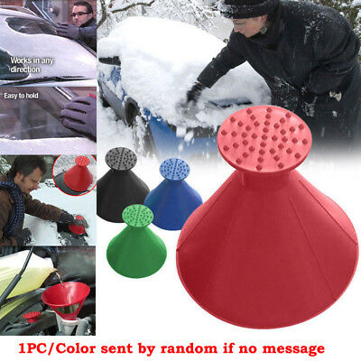 Car ice Snow Scraper Remover Windshield Ice Snow Wiper Cone-shaped Funnel Tool