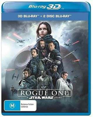Rogue One - Star Wars Story (Blu-ray, 2017, 3-Disc Set)