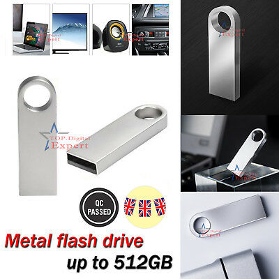 16GB 32GB 64GB 128GB 256GB Mini Metal USB Flash Drive Memory Stick PC Backup UK