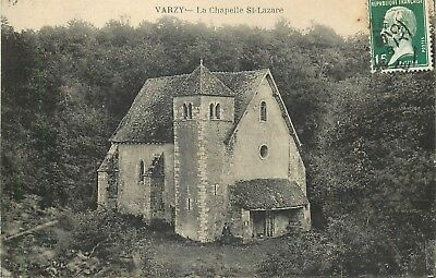 Cp Varzy Chapelle St-Lazare