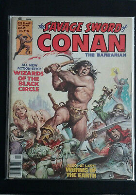 Savage Sword of Conan #16 Marvel Robert E Howard John Buscema Alfredo Alcala