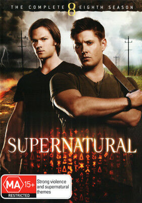 Supernatural: Season 8 (2012) [New Dvd]