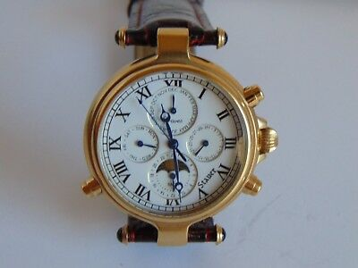 Stauer Graves 33 Automatic 27 Jewels 39mm 18K Gold Fused Stainless Steel Watch