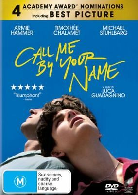 Call Me By Your Name (2017) [New Dvd]