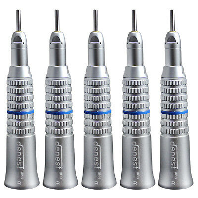 5x NSK Style Dentaire Dental E-Type Slow Low Speed Straight Handpiece Nosecone