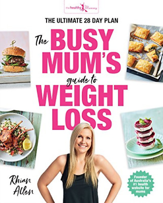 Allen  Rhian-Busy Mum`S Guide To Weightloss BOOK NEW