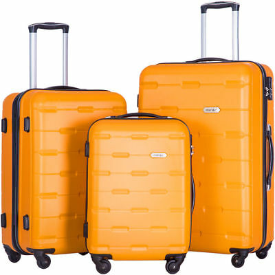 Luggage 3 Piece Luggage Set Lightweight Spinner Suitcase  #8