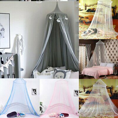 PRINCESS BED CANOPY Insect Mosquito Landing Net Play Tent ...