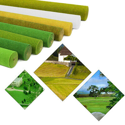 40X100cm Grass Mat Model Green Artificial Lawn Architectural Layout HO N Scale