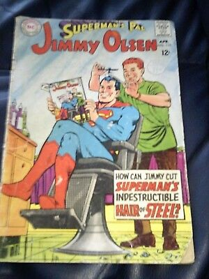 Jimmy Olsen #110 Apr 1968 (VG+) Silver Age Neal Adams Cover