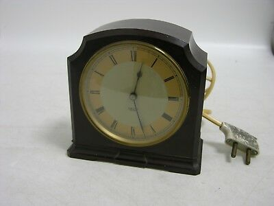 Smith Sectric Mains Electric Clock with Original Cable & Plug