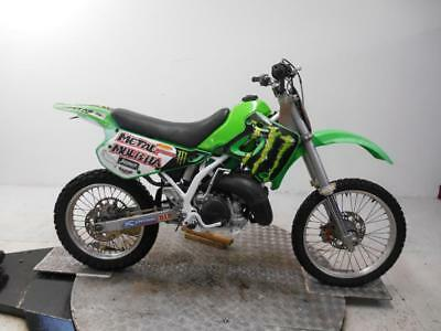 1992 Kawasaki KDX250F Unregistered Japanese Import Restoration Project