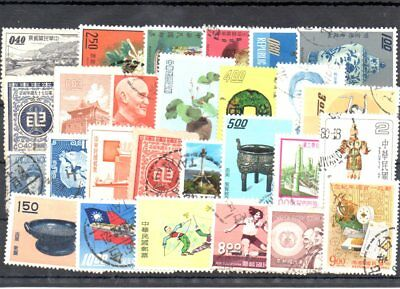Stamps of China used collection