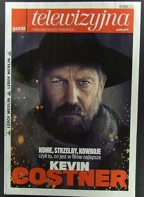 KEVIN COSTNER  great polish mag.FRONT cover