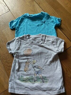 2 X Baby Boy Tops (Up-to 1 month)