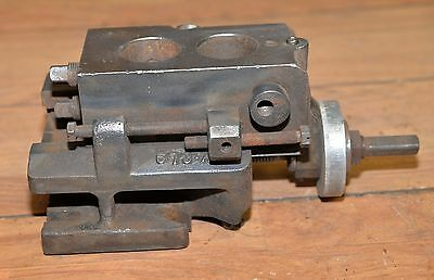 Lathe cast iron slide table vintage shaper collectible machinists tool