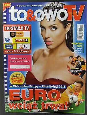 ANGELINA JOLIE  mag.FRONT cover Jerry Springer,Gina Carano,Jackie Chan,S.Seagal