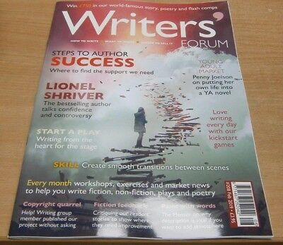 Writers' Forum magazine #208 Feb 2019 Steps to Success + Lionel Shriver & more